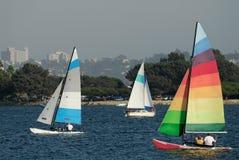 sailing полета 2 заливов Стоковые Изображения