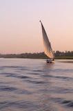 sailing реки Нила felucca Стоковые Изображения RF