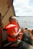 sailing семьи стоковое изображение rf