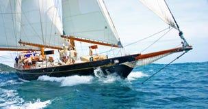 sailing шлюпки старый стоковое изображение rf