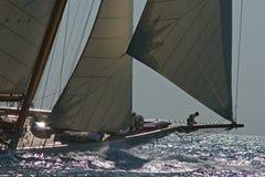sailing шлюпки старый Стоковое Изображение