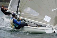 sailing 04 finn Стоковые Фото