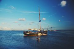 sailing стоковое изображение rf