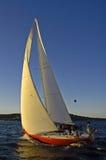 Sailing On stock image