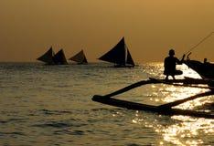 sailing 2 после полудня Стоковая Фотография RF