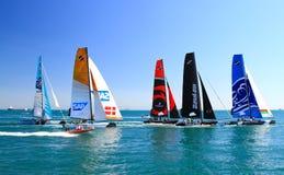 Весьма серия Sailing Стоковое фото RF
