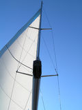 Sailing. Fanatastic view sailing Royalty Free Stock Photos