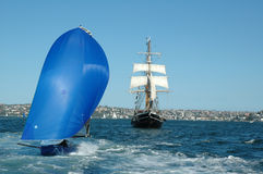 Sailing Royalty Free Stock Photo