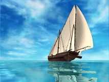 Sailing Royalty Free Stock Photography