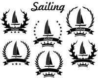 sailing royalty-vrije illustratie