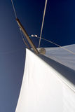 Sailing. By the yacht on baltic sea Royalty Free Stock Photos