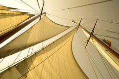 sailing логотипа иллюстрации готовый для использования сосуда вектора Стоковые Изображения RF