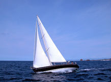 Sailing. In race Stock Image