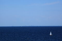 Sailing on the Adriatic Royalty Free Stock Images