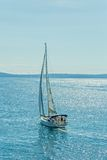 Sailing Adriatic sea Royalty Free Stock Photo