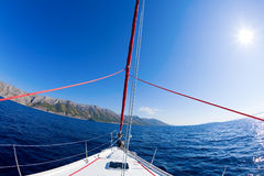 Sailing adventure Royalty Free Stock Photos