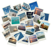 Sailing around the world stock photography
