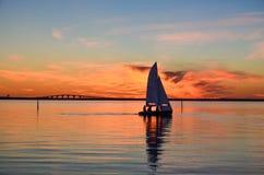 Free Sailing At Sunset Royalty Free Stock Photo - 32803275