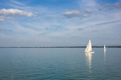 Sailing away Royalty Free Stock Photo
