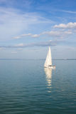 Sailing away Stock Image