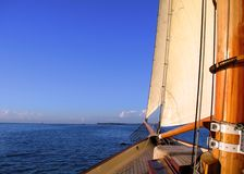 Sailing away Royalty Free Stock Image