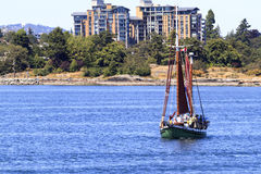 Sailing Away.... Royalty Free Stock Photo