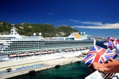 Sailing away Stock Image
