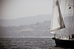 Sailing background Royalty Free Stock Images
