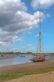 Maldon Essex UK Sailing Barge Royalty Free Stock Photo