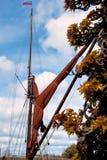 Sailing Barge Sail and Rigging Royalty Free Stock Photos