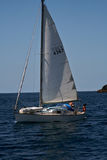 Sailing in the Bay of Islands,New Zealand Royalty Free Stock Photography