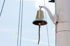 Sailing bell Royalty Free Stock Image