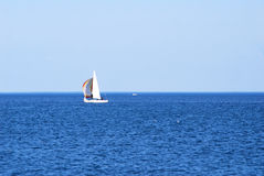 Sailing On Big Water Stock Photography