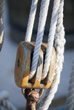 Sailing block Royalty Free Stock Photography