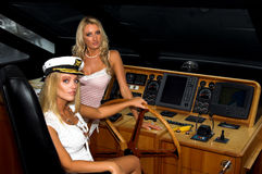 Sailing Blonds Stock Photos