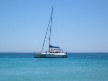 Sailing Blues Royalty Free Stock Image