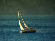 Sailing boat Royalty Free Stock Photo