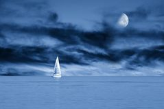 Free Sailing Boat Royalty Free Stock Image - 22274036
