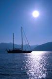 Sailing Boat. In Marmaris, Turkey, Mediterranean Sea Stock Image