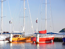 Sailing boat Royalty Free Stock Images