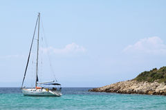 Sailing boat Stock Image