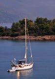Sailing Boat At Dusk Stock Images