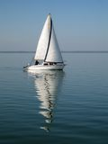Sailing-boat at balaton Stock Photography