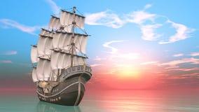 Sailing boat royalty free stock images