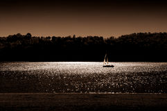 Sailing boat. Stock Images