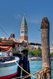 Sailing boat in front of San Marco, Venice Royalty Free Stock Images