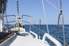 The sailing boat Royalty Free Stock Photos