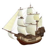 Sailing boat. Image of a sailing boat on white Royalty Free Stock Photo