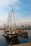 Sailing Boat Marina Punta del Este Uruguay Royalty Free Stock Images