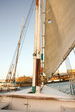 Sailing boat on the Nile Stock Photography
